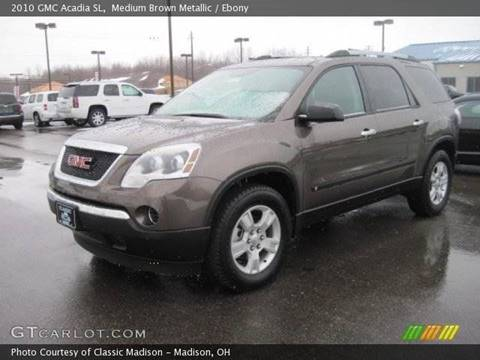 2010 GMC Acadia for sale at Impact Auto Sales in Wenatchee WA