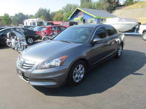 2012 Honda Accord for sale at Impact Auto Sales in Brewster WA