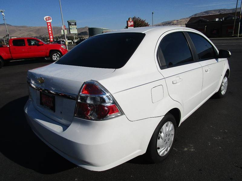 2007 Chevrolet Aveo for sale at Impact Auto Sales in Wenatchee WA