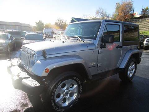 2014 Jeep Wrangler for sale at Impact Auto Sales in Brewster WA