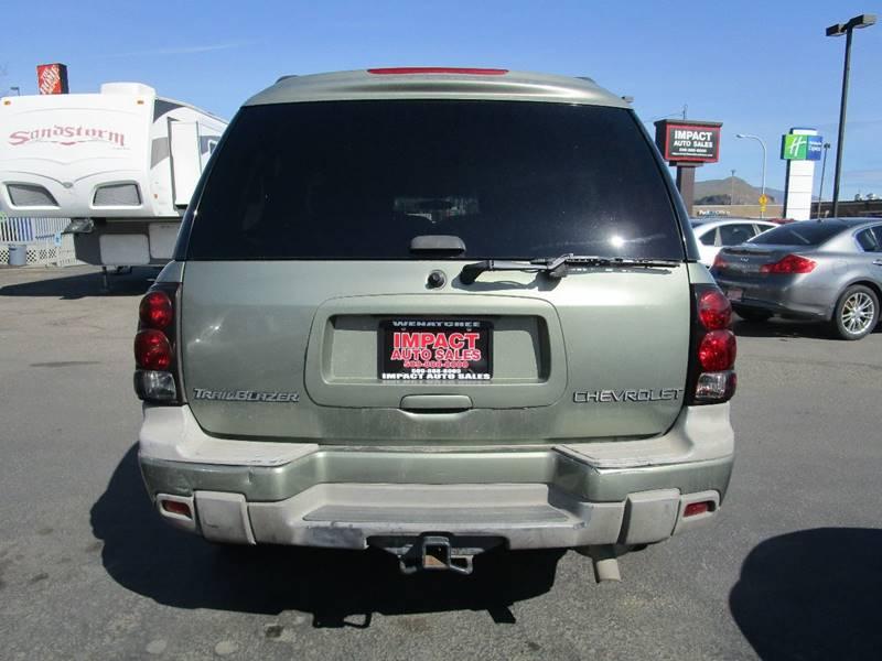 2003 Chevrolet TrailBlazer for sale at Impact Auto Sales in Wenatchee WA
