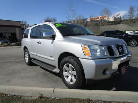 2007 Nissan Armada for sale at Impact Auto Sales in Wenatchee WA