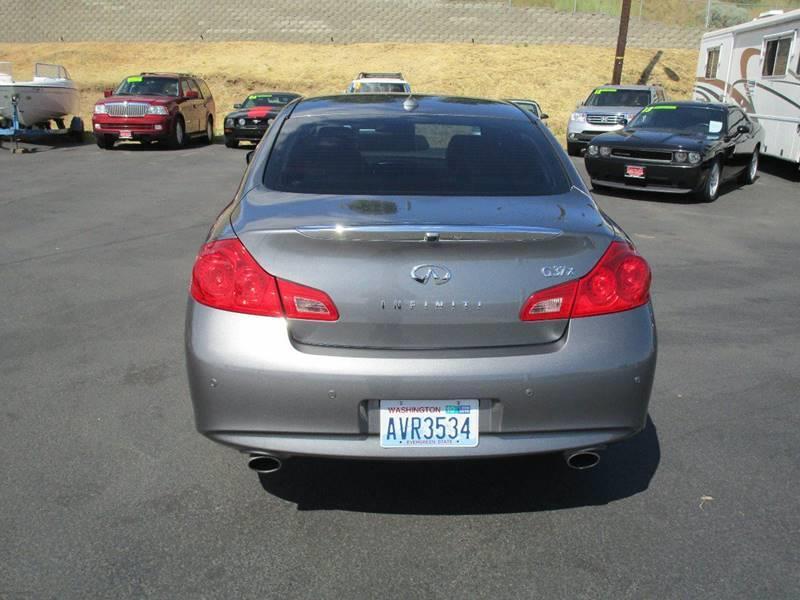 2012 Infiniti G37 Sedan for sale at Impact Auto Sales in Wenatchee WA