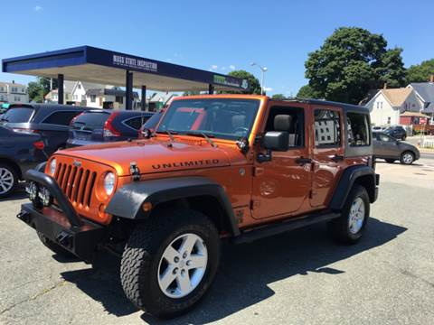 2011 Jeep Wrangler Unlimited for sale in Everett, MA