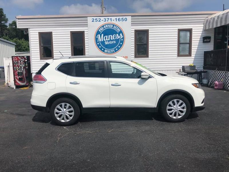 2016 Nissan Rogue For Sale At Maness Motors LLC In Rocky Mount NC