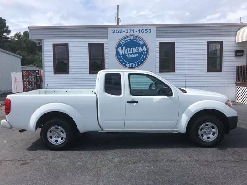 2017 Nissan Frontier For Sale At Maness Motors LLC In Rocky Mount NC