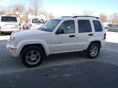 2003 Jeep Liberty for sale in Connersville, IN