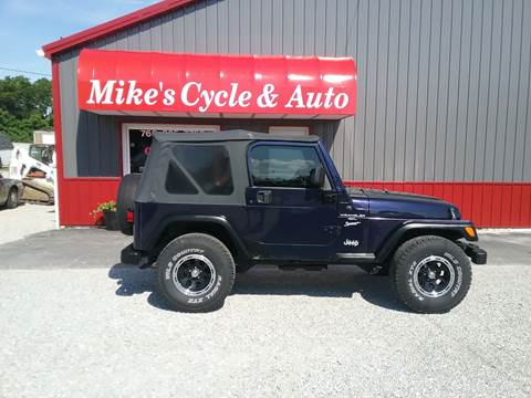 1999 Jeep Wrangler for sale in Connersville, IN
