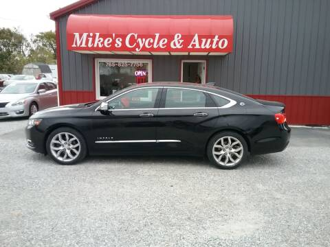 2016 Chevrolet Impala for sale at MIKE'S CYCLE & AUTO in Connersville IN