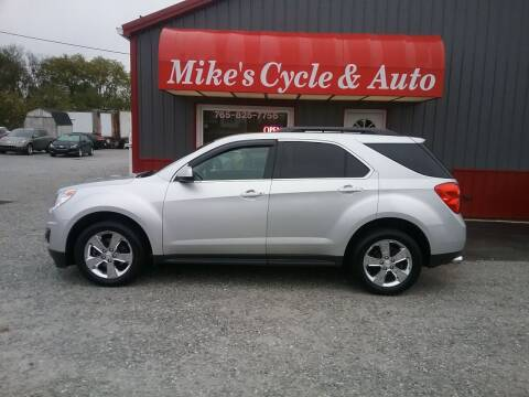 2012 Chevrolet Equinox for sale at MIKE'S CYCLE & AUTO in Connersville IN