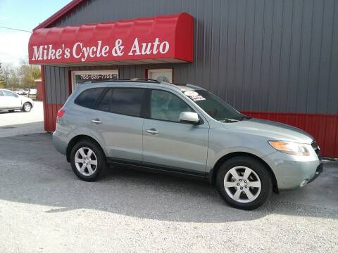 2007 Hyundai Santa Fe for sale at MIKE'S CYCLE & AUTO in Connersville IN
