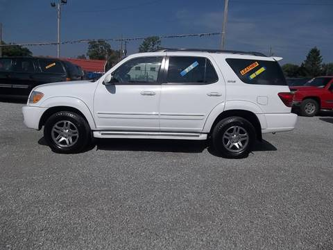 2007 Toyota Sequoia for sale at MIKE'S CYCLE & AUTO - Mikes Cycle and Auto (Liberty) in Liberty IN