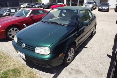 2001 Volkswagen Cabrio for sale at Grand Rapids Motorcar in Grand Rapids MI