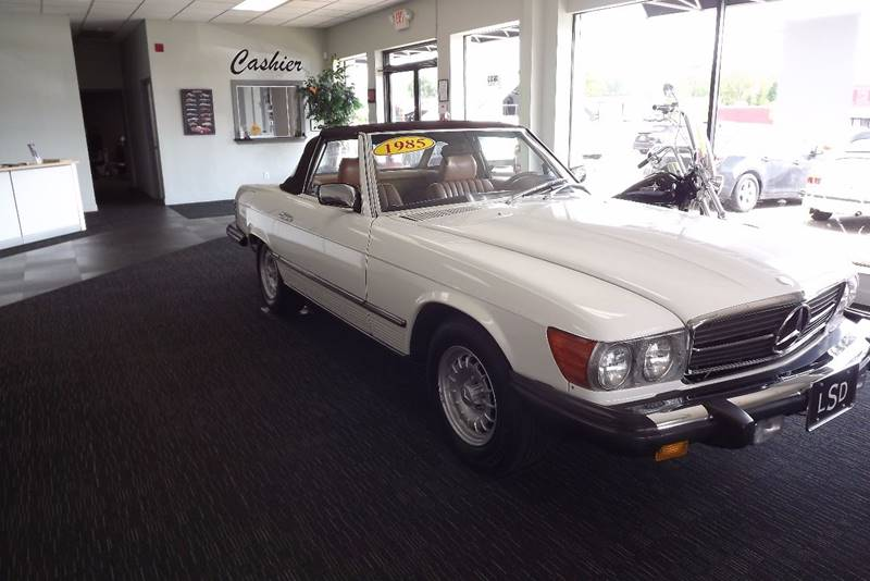 1985 Mercedes-Benz 380-Class 380 SL 2dr Convertible - Grand Rapids MI