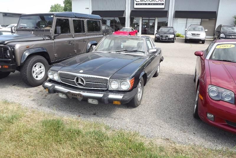 1985 Mercedes Benz 380 Class 380 SL 2dr Convertible   Grand Rapids MI