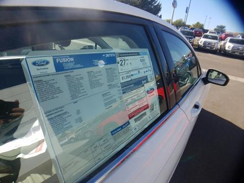2017 Ford Fusion for sale in Elko NV