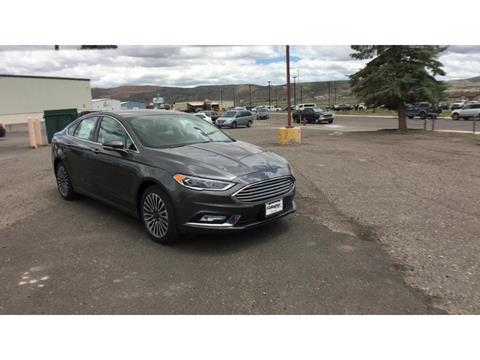 2017 Ford Fusion for sale in Elko, NV