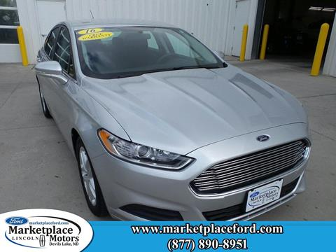 2016 Ford Fusion for sale in Devils Lake, ND