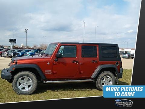 2014 Jeep Wrangler Unlimited for sale in Devils Lake, ND