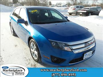 2012 Ford Fusion for sale in Devils Lake, ND