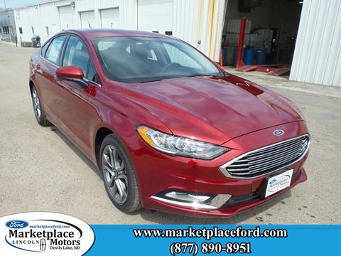 2017 Ford Fusion for sale in Devils Lake, ND