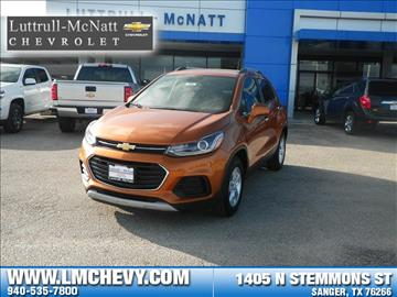 2017 Chevrolet Trax for sale in Sanger, TX