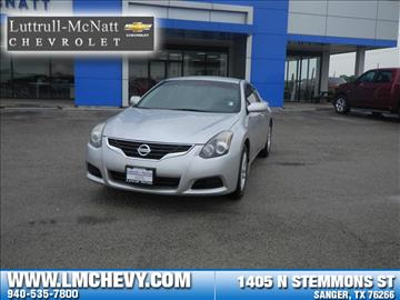 2011 Nissan Altima for sale in Sanger, TX
