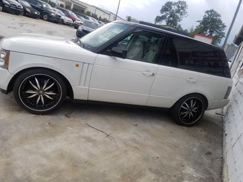 2005 Land Rover Range Rover for sale at Palmer Automobile Sales in Decatur GA
