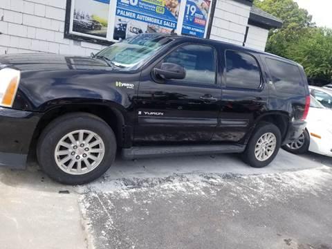 2008 GMC Yukon for sale at Palmer Automobile Sales in Decatur GA
