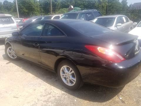 2004 Toyota Camry Solara for sale at Palmer Automobile Sales in Decatur GA