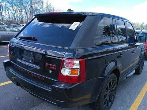 2007 Land Rover Range Rover Sport for sale at Palmer Automobile Sales in Decatur GA