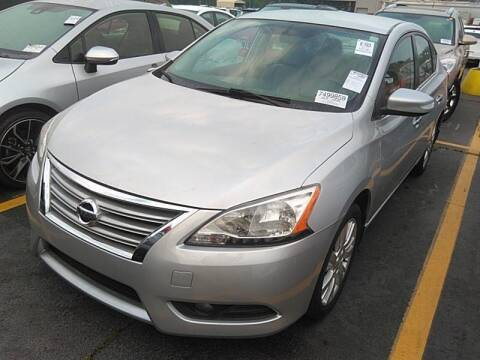 2013 Nissan Sentra for sale at Palmer Automobile Sales in Decatur GA