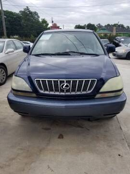 2002 Lexus RX 300 for sale at Palmer Automobile Sales in Decatur GA