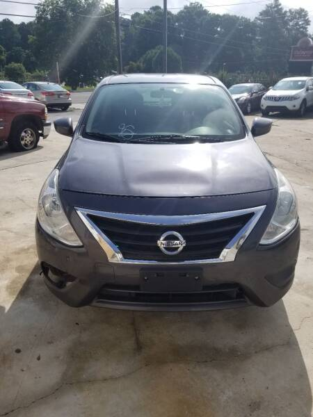2015 Nissan Versa for sale at Palmer Automobile Sales in Decatur GA