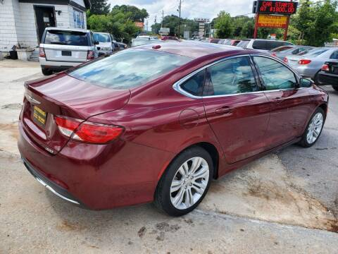 2015 Chrysler 200 for sale at Palmer Automobile Sales in Decatur GA