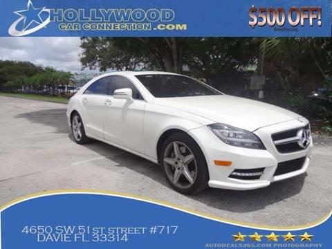 2013 Mercedes-Benz CLS for sale in Davie, FL