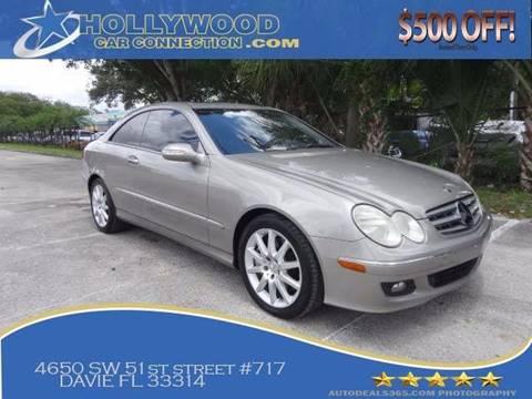 2007 Mercedes-Benz CLK for sale in Davie, FL
