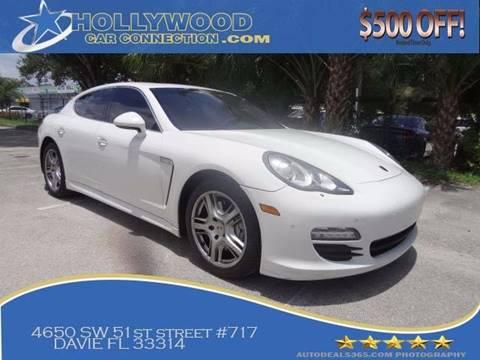 2010 Porsche Panamera for sale in Davie, FL