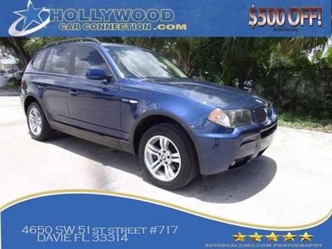 2006 BMW X3 for sale in Davie, FL