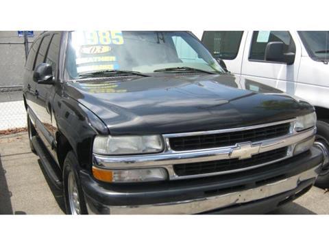 2003 Chevrolet Suburban for sale in Hawthorne, CA