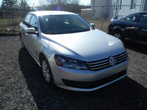2013 Volkswagen Passat for sale in Davison, MI