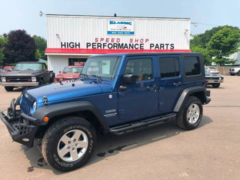 2010 Jeep Wrangler Unlimited for sale in Davison, MI