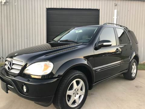 2002 Mercedes-Benz M-Class for sale in Lancaster, TX