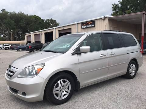 2007 Honda Odyssey for sale at Budget Motorcars in Tampa FL