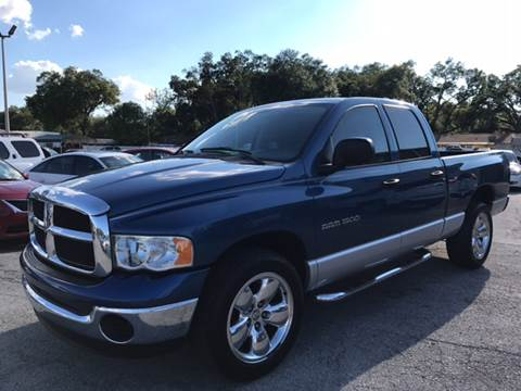 2005 Dodge Ram Pickup 1500 for sale at Budget Motorcars in Tampa FL