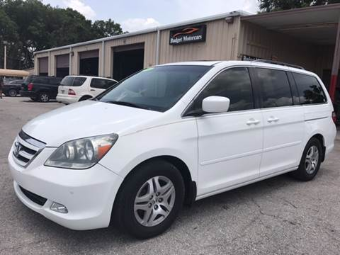 2006 Honda Odyssey for sale at Budget Motorcars in Tampa FL
