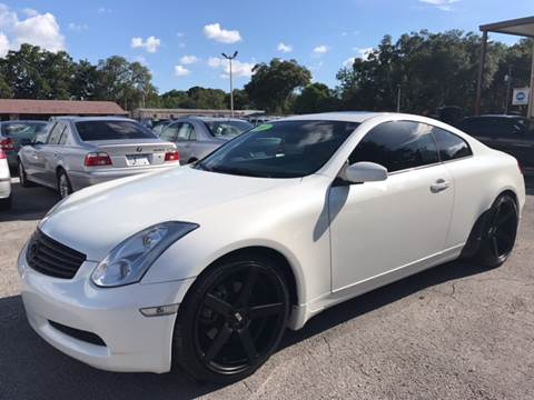 2007 Infiniti G35 for sale at Budget Motorcars in Tampa FL
