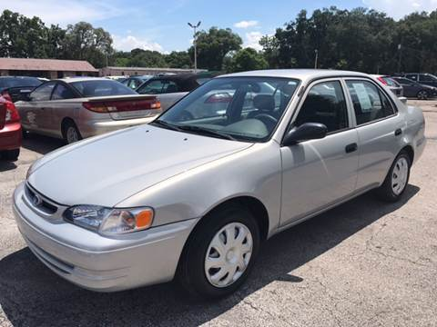 1999 Toyota Corolla for sale at Budget Motorcars in Tampa FL