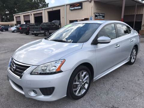 2013 Nissan Sentra for sale at Budget Motorcars in Tampa FL