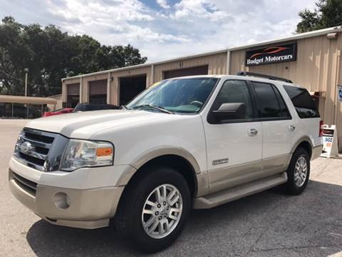 2008 Ford Expedition for sale at Budget Motorcars in Tampa FL